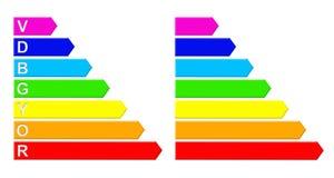 Varicoloured pointers of flowers of rainbows Stock Image