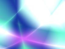 Varicoloured rays stock illustration