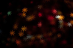 Varicoloured snowflakes background Royalty Free Stock Photos