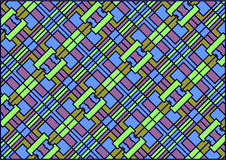 Varicoloured square background. Stock Photo