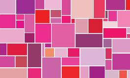 Varicoloured squares Royalty Free Stock Image