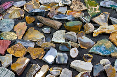 Varicoloured stone Stock Photos