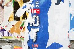 varicoloured tekstury ściany Obrazy Royalty Free