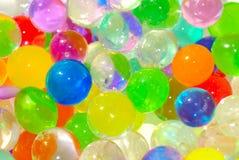 varicoloured vatten för bollar Royaltyfri Fotografi