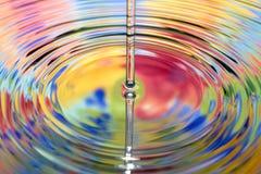 Varicoloured Wasser Lizenzfreie Stockfotografie