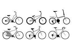 Varie biciclette Fotografia Stock Libera da Diritti
