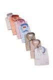Varie camice isolate Fotografie Stock Libere da Diritti