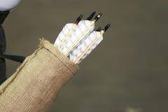 Varie frecce colorate nel fremito come fondo Immagini Stock