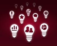 Varie icone dell'interfaccia Immagine Stock Libera da Diritti