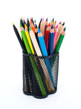 Varie matite di colore Immagine Stock Libera da Diritti