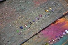 Varie pietre preziose Fotografie Stock Libere da Diritti