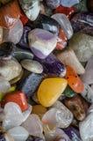 Varie pietre preziose Fotografia Stock