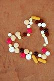 Varie pillole Immagini Stock Libere da Diritti