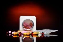 Varie pillole Immagine Stock