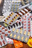 Varie pillole Immagine Stock Libera da Diritti