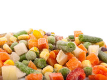 Varie verdure congelate Immagini Stock