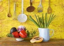Varie verdure e frutta Fotografie Stock