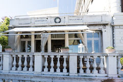 Varie viste della città turistica di Venezia, Italia Fotografia Stock