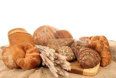 Varied bread display Stock Image
