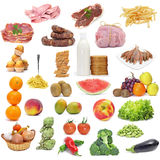 Varied diet Royalty Free Stock Images