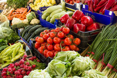 Varied and fresh vegetables Royalty Free Stock Photos