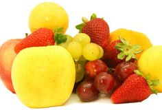 Varied fruits Royalty Free Stock Photography