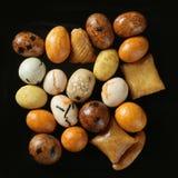 Varied Japan color snack apetizer studio Stock Photo
