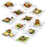 Varied menu royalty free stock photo