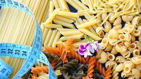 Varied Pasta stock photography