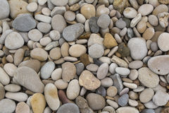 Varied river stones Royalty Free Stock Image