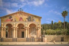 Variedad de arquitectura en Jerusalén Fotos de archivo libres de regalías