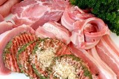 Variedad de carne Foto de archivo libre de regalías