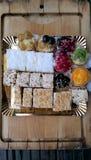 Variedad de dulces Fotos de archivo libres de regalías