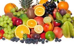 Variedad de fruta Imágenes de archivo libres de regalías