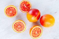 Variedad de frutas cítricas Imagen de archivo