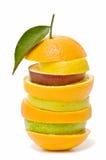Variedad de frutas mezcladas Imagenes de archivo