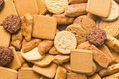 Variedad de galletas Foto de archivo