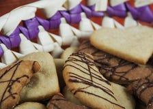 Variedad de galletas Imagen de archivo libre de regalías