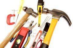 Variedad de herramientas Imagen de archivo libre de regalías