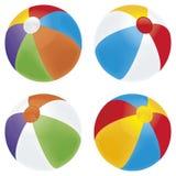 Variedad de la bola de playa Fotos de archivo libres de regalías