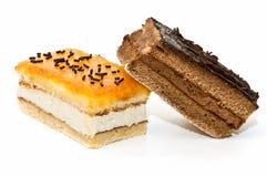 Variedad de la calidad de tortas Foto de archivo