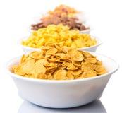 Variedad de la mezcla de cereales de desayuno II imagenes de archivo