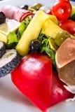 Variedad de las verduras 2 Foto de archivo libre de regalías