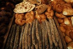Variedad de pan Imagen de archivo libre de regalías