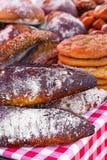 Variedad de panes del artesano Foto de archivo