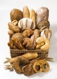 Variedad de productos cocidos al horno Foto de archivo