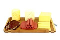 Variedad de productos de la tienda de platos preparados imagenes de archivo