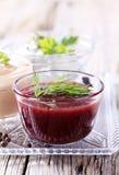 Variedad de salsas fotografía de archivo libre de regalías