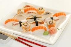 Variedad de sushi Foto de archivo