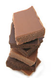 Variedad del chocolate Foto de archivo